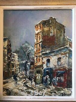 4 Oeuvres Peintes De Raymond Besse