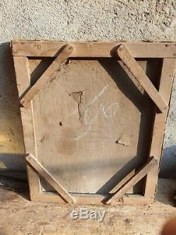ANCIEN TABLEAU, PEINTURE, LA FAMILLE HEUREUSE, XIXeme, HUILE SUR TOILE, PORTRAIT