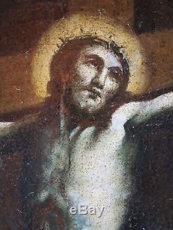 Ancien Tableau Sainte Marie Madeleine Peinture Huile Antique Painting Dipinto