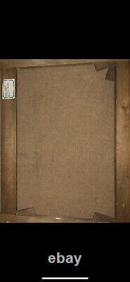 André Derain(1880-1954) Paysage fauve huile sur papier marouflée sur toile