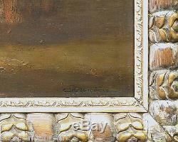 CHARLES DAGNAC-RIVIERE (1864-1945) SCENE ORIENTALISTE Huile sur toile