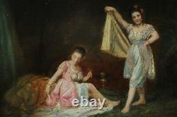 Danseuses orientales XIXè signé Winckler