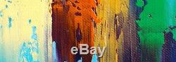 Doëlan Clohars-Carnoët JP DOUCHEZ Peinture huile sur toile au couteau Bretagne