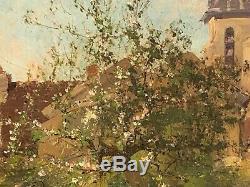 E. Galiany dit Eugène Galien-Laloue (1854-1941) Huile sur toile