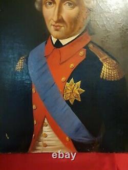 Ecole Française Du XIX ème S, Portrait d'Officier