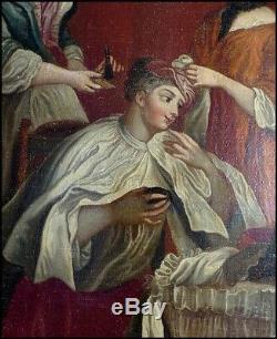 École Française du XVIIIe Siècle Femme de Qualité à Sa Toilette Nicolas Lancret