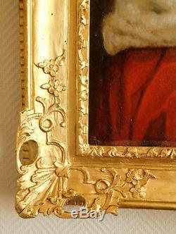 Ecole du XVIIIe SIECLE, portrait d'aristocrate parlementaire d'époque LOUIS XV