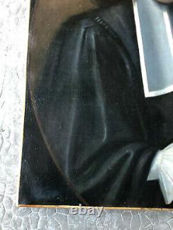 Ecole française du XVIIIe siecle Portrait d'un magistrat- Huile sur toile HST