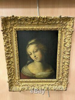 École italienne du XVIe Suiveur de Raphaël Portrait de la vierge
