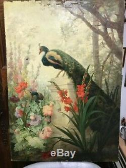 Éléonore ESCALLIER Poligny 1827 Sèvres 1888 tableaux huile sur toile vers 1880