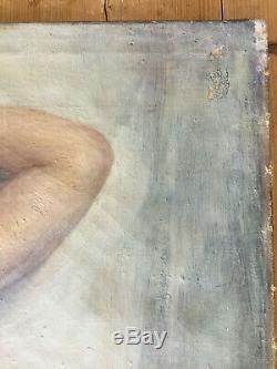 Fougerat Emmanuel Nue huile sur toile