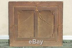 GRANDE HUILE SUR TOILE XIX° siècle NATURE MORTE CHASSE MOHLER 82 x 98 cm