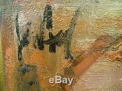 Gen Paul (1895-1975)huile sur toile signée Autoportrait à la Légion d'honneur