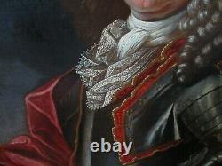 Grand Portrait à l'huile -J RANC atelier- SIGNE / Encadré 130 X 117 XVII