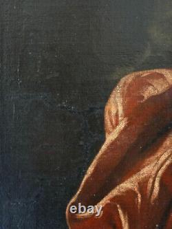 Grand Portrait d'un homme de la Noblesse Française époque XVIIIe