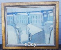 Grande HST Impressionniste Huile sur Toile SIGNEE ANDRE BOURRIE PEINTRE MARINE