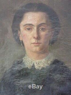 HST Femme de qualité Ecole Française XIXe