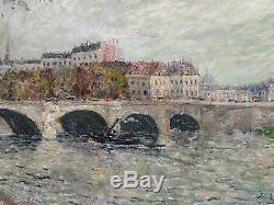 Henry Gérard Toulouse1860 Martigues1925 Huile/toile vers 1890/1900 Signée situé