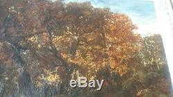 Huile originale sur toile, signée Narcisse Diaz de la PENA (1807-1876)