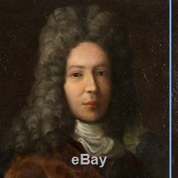 Huile sur toile, Portrait d'homme, XIXe