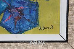 Huile sur toile de Jean LURCAT