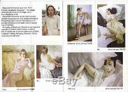 Huile /toile Jeune femme nue signée Alexander SHEVCHUK