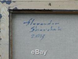 Huile /toile -NU DEBOUT- signé SHEVCHUK Alexander