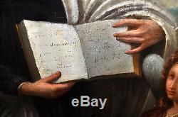 Important Huile Sur Toile De Theme Religieux Du Sciecle XVIII