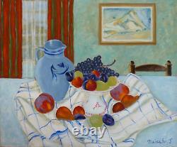 Jean MISISCHI (1935) HsT Nle Ecole de Paris Jeune Peinture Fauvisme Fauviste