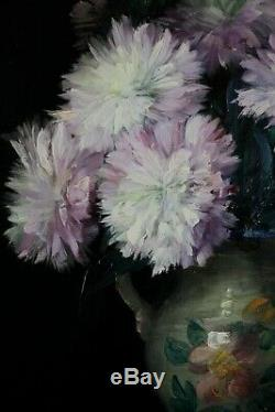 Julien Stappers, 1875, Peintre des fleurs, Bouquet, Cotations jusque 2.000 euros