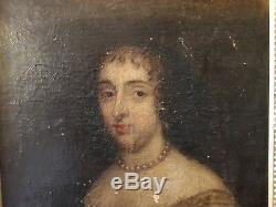 Louise De La Vallière Louis XIV h/t XVIIe