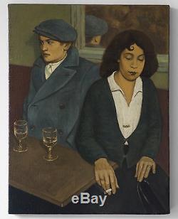 Magnifique Peinture Post-Impressionniste, Huile sur Toile