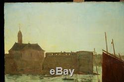 Marine, Port De Concarneau, Bretagne, Louis Massin 1907