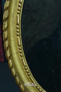 Mathias Schiff Lorrain Tableau ancien Portrait jeune Homme yeux verts Notaire