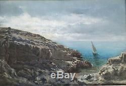 Michel FRONTI (1862-) Marine Marseille Provence Courdouan Ponson Seyssaud