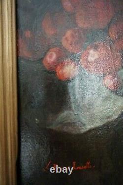 NATURE MORTE XVIIIe-XIXe -Huile sur toile