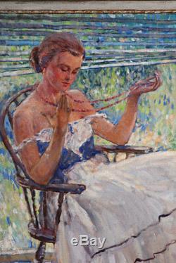 NEILSON Raymond Perry Rodgers, 1881 / 1964 Ecole Américaine Impressionniste