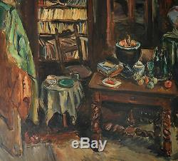 OTHON FRIESZ (1879-1949) L'atelier de l'artiste, Paris, 1943 Wou-ki Havre Dufy