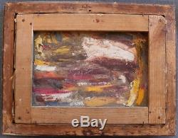 PAUL-EMILE BECAT Odalisque Nu orientaliste Rare huile sur toile signée encadré