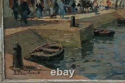 Paul Emile LECOMTE (1877-1950), Ile d'Yeu, Port Joinville, pêcheurs, marine, Vendée