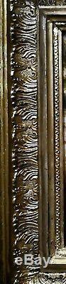 Paysage Pont Animé avec personnages / Huile sur toile/fin XVIII siècle / France