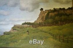Peinture-huile-auguste Moynier-paysage Marin-vallee De L Oise- Musee-xix Eme