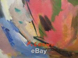 Pierre Cornu (1895-1996) Femme nue allongée Huile sur toile. V200
