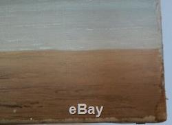 Pierre de CLAUSADE, Huile sur toile signée. Paysage marin