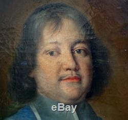 Portrait d'homme Evêque Ecole Française du XVIIème siècle Huile sur toile