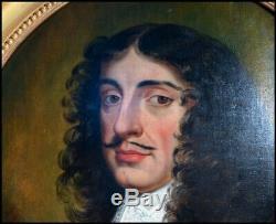 Portrait de Charles II Roi d'Angleterre d'Irlande et d'Écosse (1630 -1685)