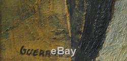 Raymond Guerrier. Jetée. Huile sur toile v714