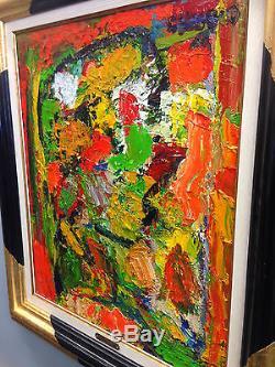 Tableau Adrien SEGUIN (1926-2005) Huile sur toile Peintre Montpellier ART