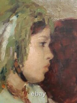 Tableau Emile Aubry (1880-1964), Orientaliste, Algerie