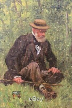 Tableau, France, Pêche, impressionnisme, Monet, Renoir, paysage
